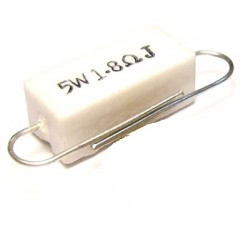 Резистор 1,8R - 5Wt