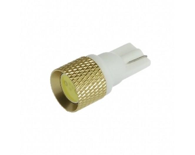Автомобильная светодиодная лампа T10, 1pcs 1Wt Белая