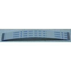 Шлейф Белый 24pin 100mm step 0.5mm