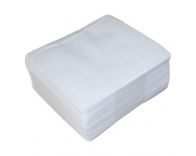 Конверт SmartTrack, комплект 50шт, на 2x CD/DVD диска, белые