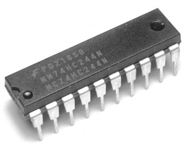 Микросхема 74HC244Ndip