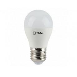 Лампа ЭРА LED P45 Е27, 7w, 4000К, шар матовый (P45-7w-842-E27)