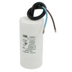 Конденсатор неполярный CBB-60 20 uf - 450v    (±5%)