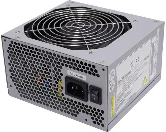 Блок питания ATX BoxIT 450W [S450W] 120mm fan/24+4 pin