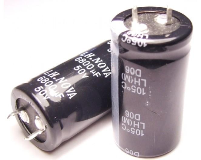 Конденсатор 6800mkF x 50V