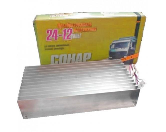 Автомобильный Инвертор 24V / 12V 45A ПН-45