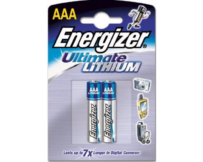 Батарейка R03S-AAA (286 элемент) Energizer Lithium Ultimate