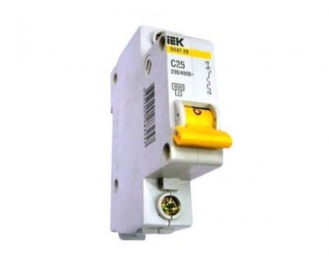 Автоматический выключатель BA47-29 25А (пакетник)