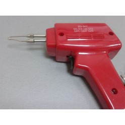 Паяльник - пистолет ZD507 (150W) с лампой подсветки места пайки, керамический нагреватель