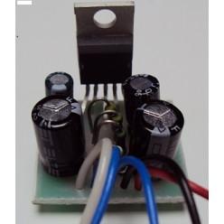 Радиоконструктор 011 - Усилитель мощности низкой частоты на микросхеме TDA2003 (без динамика)