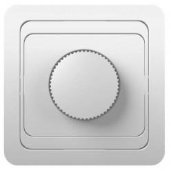 Светорегулятор (диммер) скрытой установки настенный 600Вт,220в белый