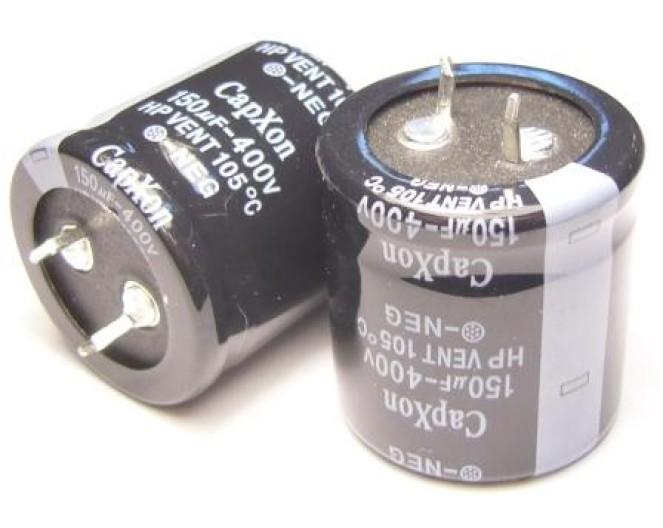 Конденсатор 150mkF x 400V 105*C