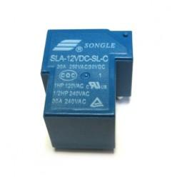 Реле SLA-12VDC-SL-C (T90) 12VDC Songle 30A