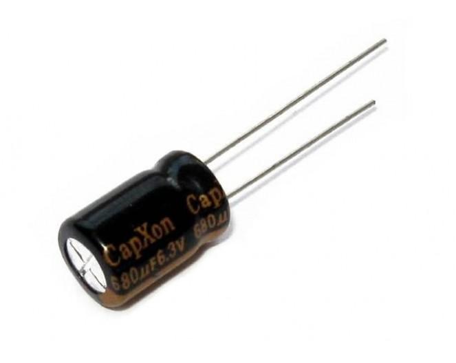 Конденсатор 680mkF x 6,3V 105*C комп.