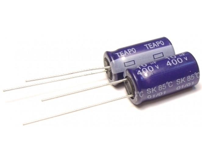 Конденсатор 10mkF x 400V