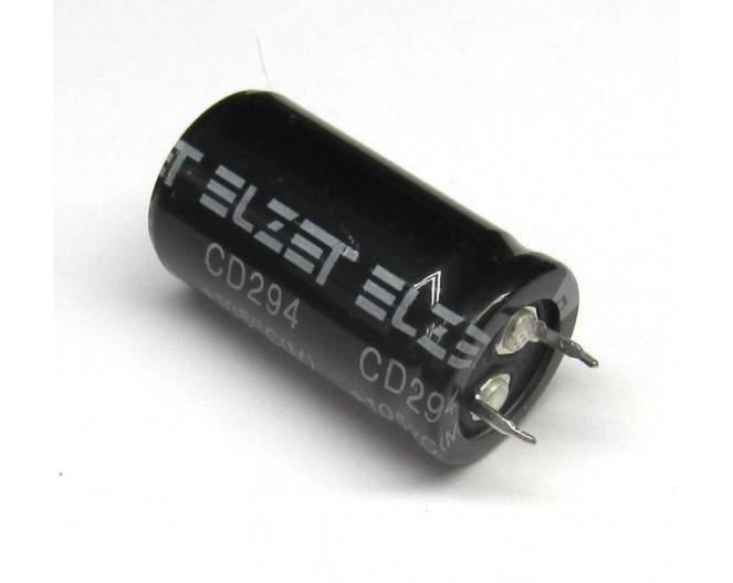 Конденсатор 47mkF x 400V жесткие выводы 22x31