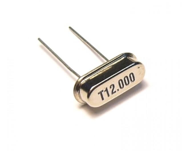 Кварцевый резонатор HC-49S-12 МГц