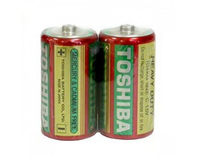 Батарейка R14 (343 элемент) Toshiba