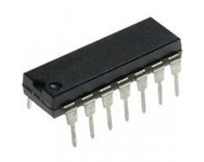 Микросхема К176РМ1 (CD4005E)
