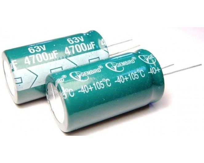 Конденсатор 4700mkF x 63V