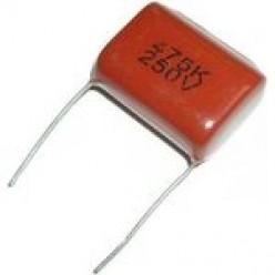 Конденсатор неполярный CL21 4,7Мкф x 250в (К73-17) 475K