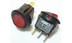 Выключатель клавишный круглый RWB-214