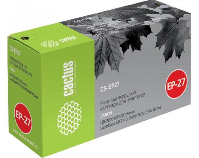 Картридж Cactus [CS-EP27/CS-EP27S] для Canon LBP-3200/MF3110/5630/5660 [EP-27] (8489A002)
