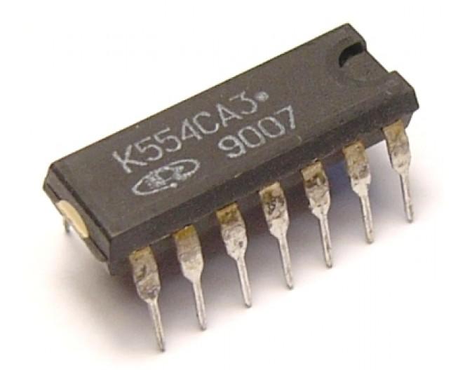 Микросхема К554СА3 (IL311ANM)