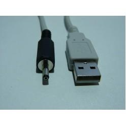 Шнур Питания для планшетников - штекер USB => штекер 1,0/3.0