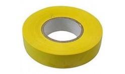 Изолента импорт. 0,13x19x25mm желтая