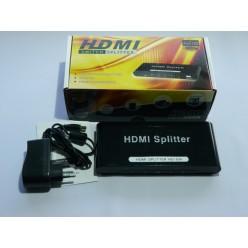 Делитель HDMI HD104 ( 1 вход => 4 выхода) ver.1.3