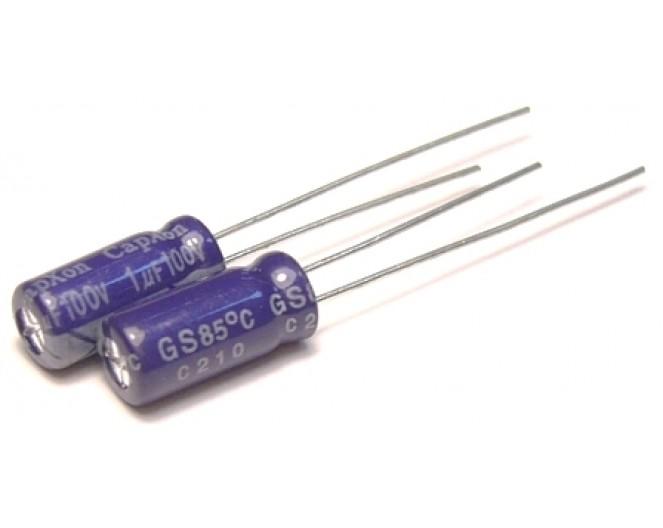 Конденсатор 1mkF x 100V