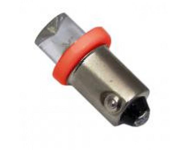 Автомобильная светодиодная лампа BA9S, 1pcs Красная