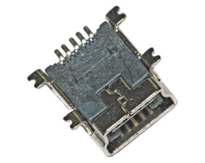 Гнездо USB miniBF 5pin (7874)