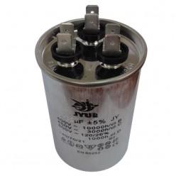 Конденсатор неполярный CBB-65 30+6,0 uf - 450v    (±5%)