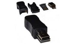 Штекер mini USB 5 PIN