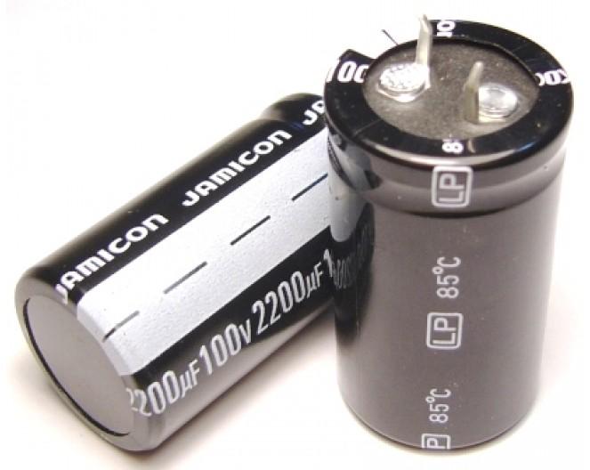 Конденсатор 2200mkF x 100V