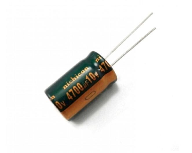 Конденсатор 4700mkF x 10V 105*С комп.