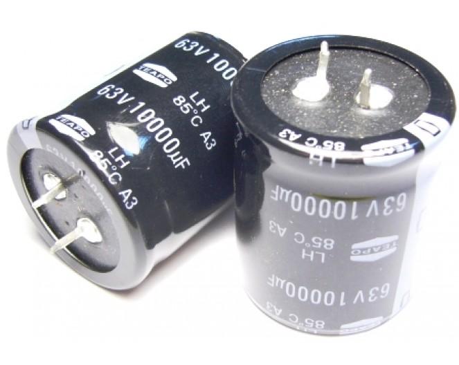 Конденсатор 10000mkF x 63V