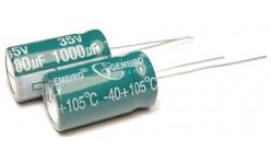 Конденсатор 1000mkF x 35V 105*С комп. К50-35