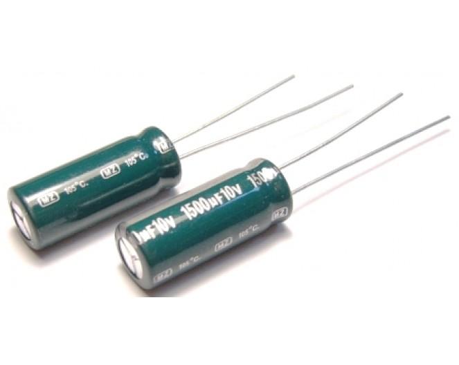 Конденсатор 1500mkF x 10V 105*С комп.
