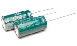Конденсатор 2200mkF x 16V 105*С комп.