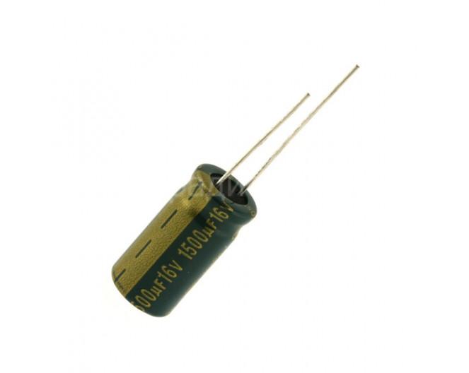 Конденсатор 1500mkF x 16V 105*С комп.
