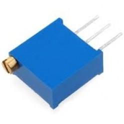 Резистор подстроечный 500R (3296W-501)