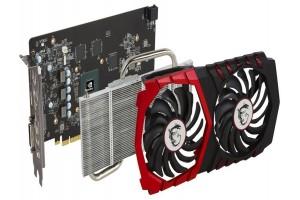 MSI выпустила пять моделей GeForce GTX 1050 Ti и GTX 1050