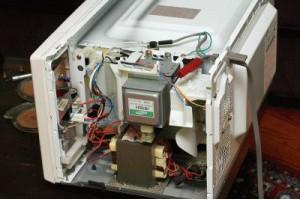 Основные неполадки микроволновых печей и их разборка 1