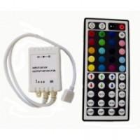 Контроллер светодиодной RGB ленты 6А с пультом 44 кнопки