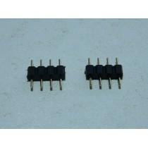 Коннектор-переходник для подключения RGB ленты к контроллеру