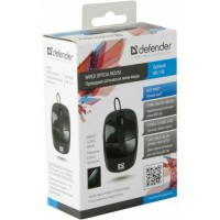 Мышь Defender Optimum MS-130 Black (USB), 800dpi, черный