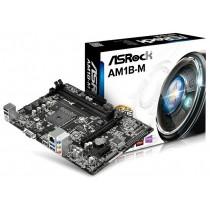 М/плата ASRock [AM1B-M] mATX Soc-AM1 (2xDDR3, AC5.1, PCI-E, USB3.0, VGA) RTL